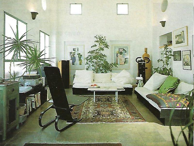חלל מגורים בבית ביפו העתיקה1
